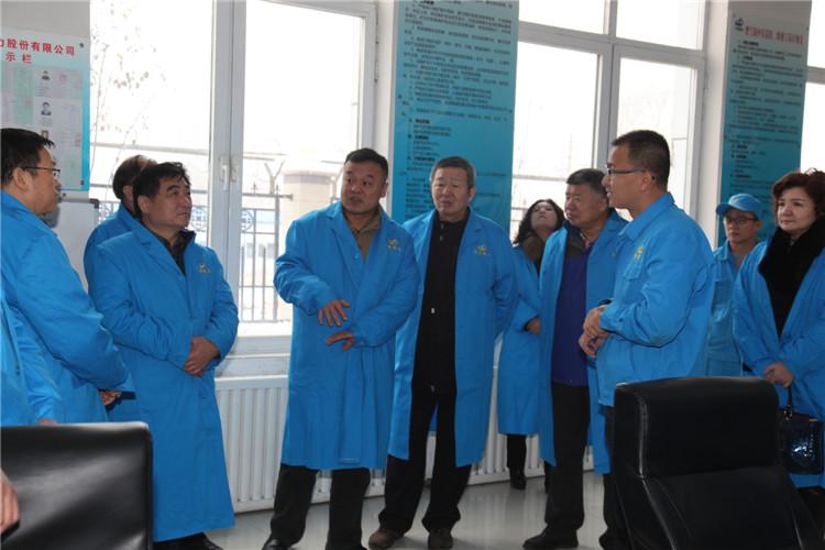 乌鲁木齐市高新区(新市区)人大代表来华源热力公司调研工作